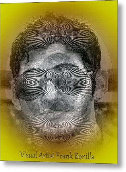 Metal Print featuring the digital art View by Visual Artist Frank Bonilla
