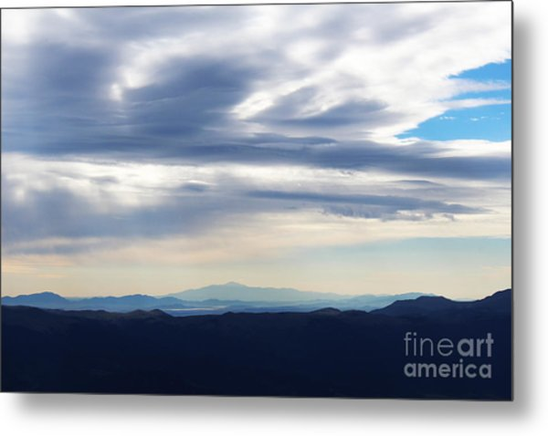 Metal Print featuring the photograph Views From Mt. Elbert by Kate Avery