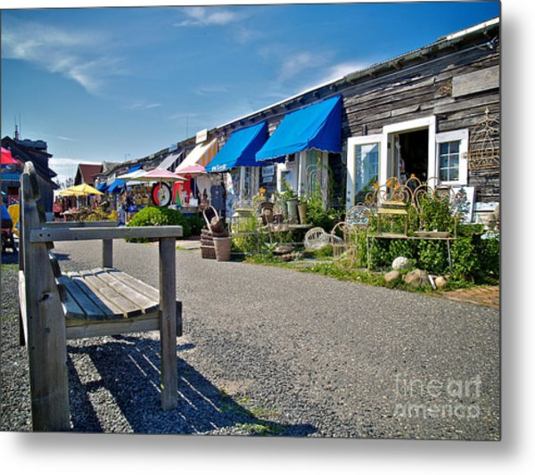 Viking Village Metal Print