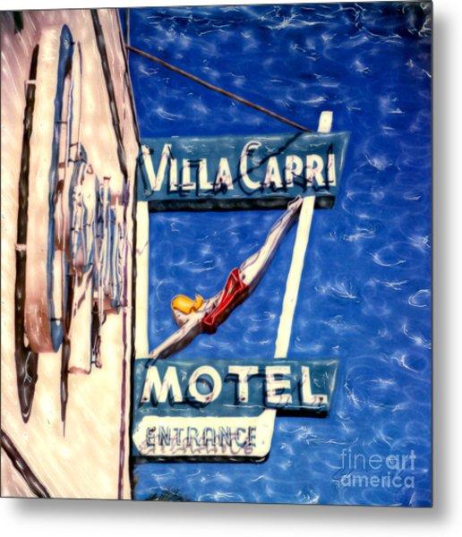 Villa Capri Metal Print