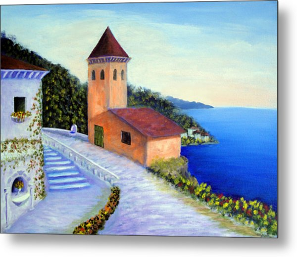 Villa Of Dreams Metal Print