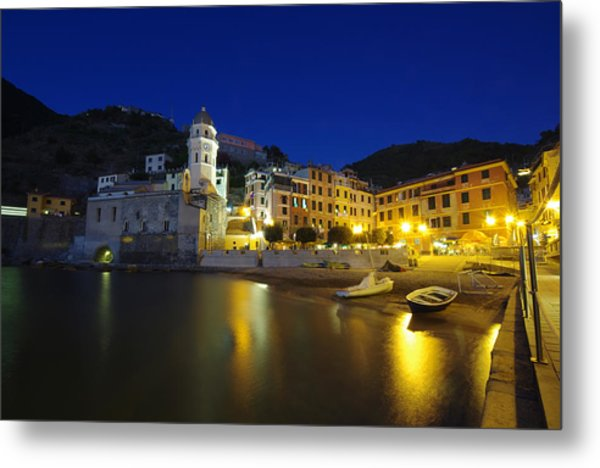 village in Italy Metal Print by Ioan Panaite
