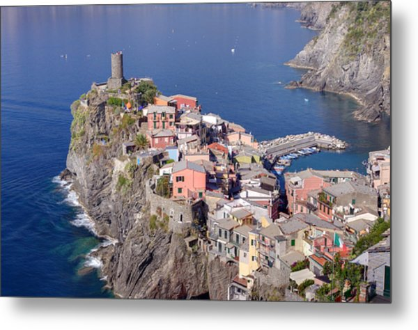 village of Vernazza Metal Print by Ioan Panaite