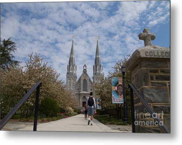 Villanova College Metal Print