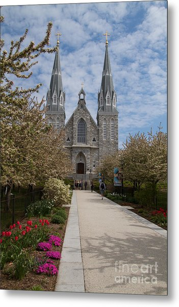 Villanova University Main Chapel  Metal Print