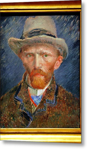 Vincent Van Gogh. Metal Print by Vincent Van Gogh