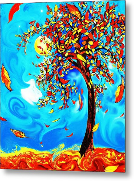 Vincent's Tree Metal Print