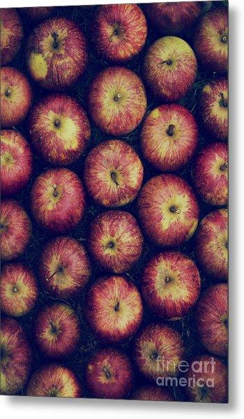Vintage Apples Metal Print