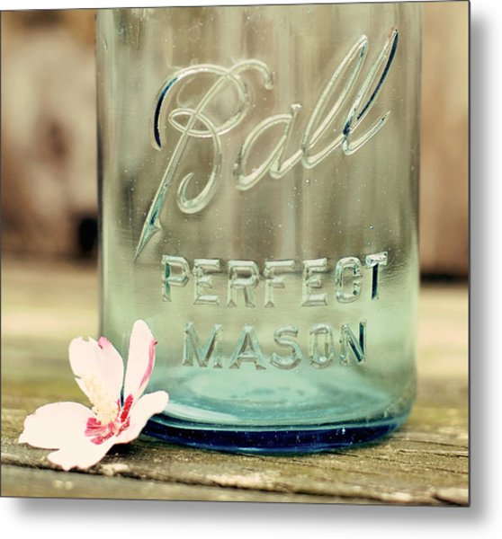 Vintage Ball Perfect Mason Metal Print