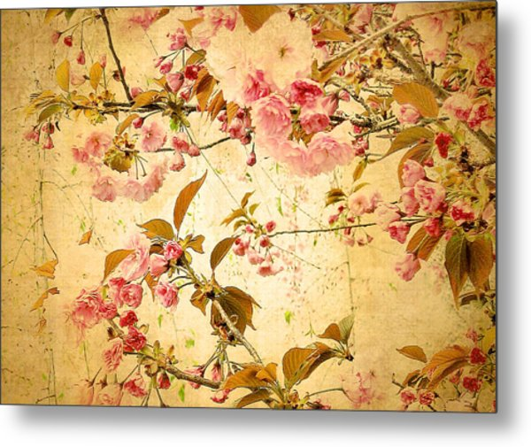 Vintage Blossom Metal Print