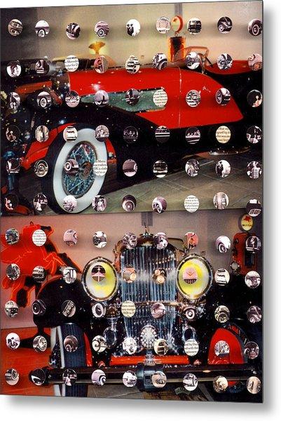 Vintage Cars1 Metal Print by Irmari Nacht