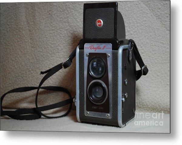 Vintage Duaflex Iv Camera Metal Print