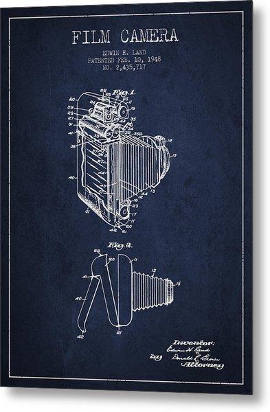 Vintage Film Camera Patent From 1948 Metal Print