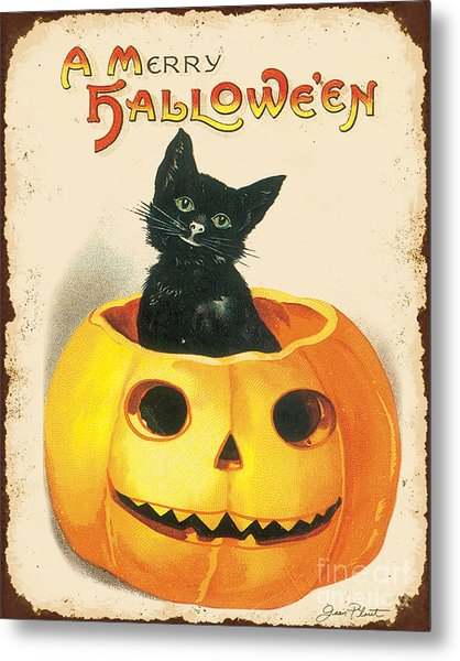 Vintage Halloween-k Metal Print