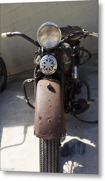 Vintage Harley Metal Print