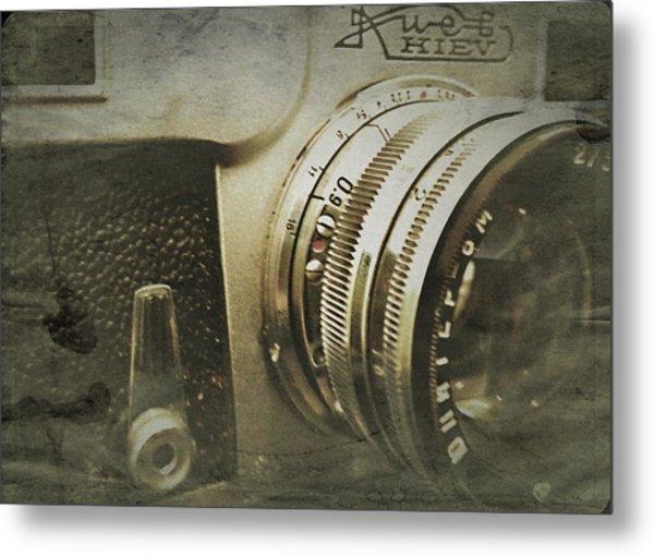 Vintage Kiev Camera Metal Print