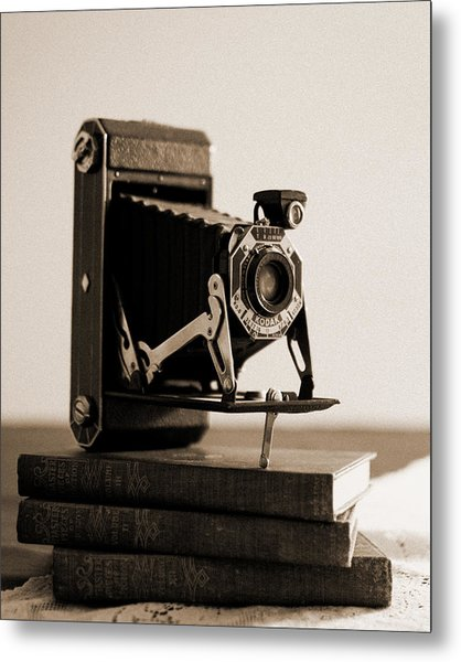 Vintage Kodak 620 Art Deco Camera Metal Print