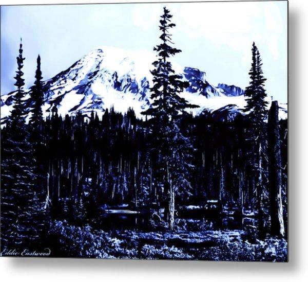 Vintage Mount Rainier Early 1900 Era... Metal Print