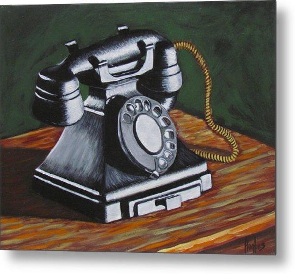 Vintage Phone 2 Metal Print