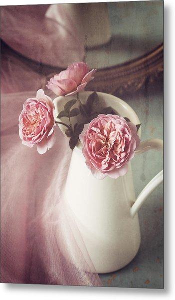 Vintage Pink Metal Print