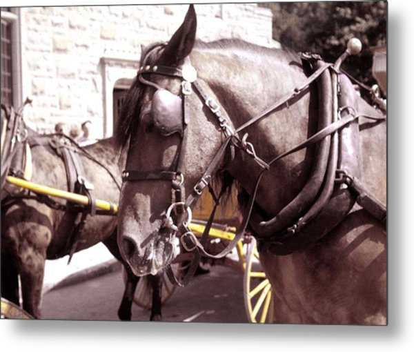 Vintage Ride Metal Print by JAMART Photography