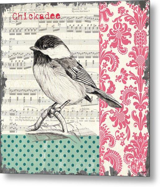 Vintage Songbird 3 Metal Print