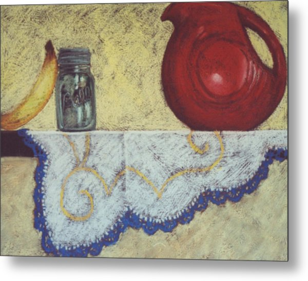 Vintage Still Life Series Metal Print by Kelley Smith