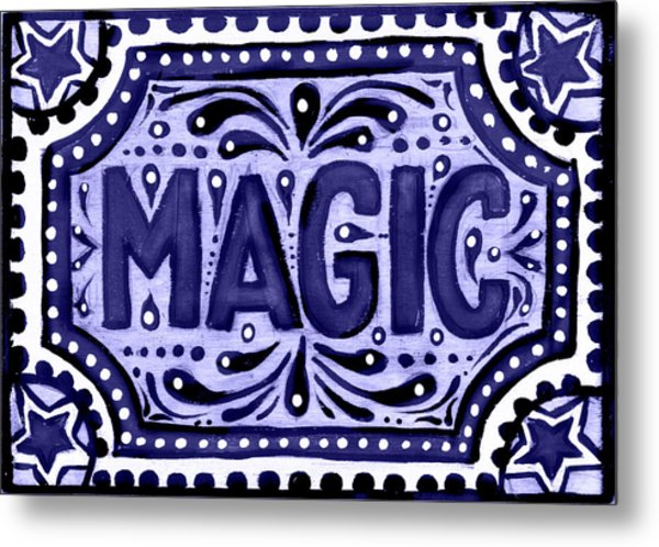 Violet Magic  Metal Print