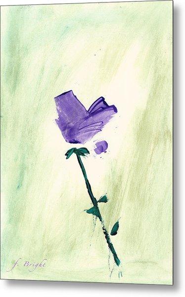 Violet Solo Metal Print