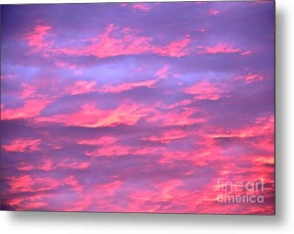 Violet Sunrise Metal Print by Jay Nodianos