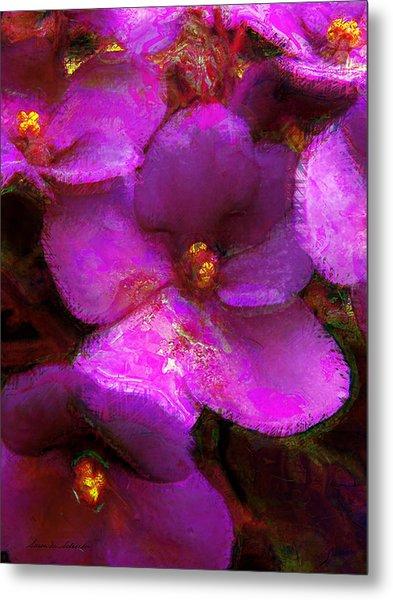 Violets No. 1 Metal Print