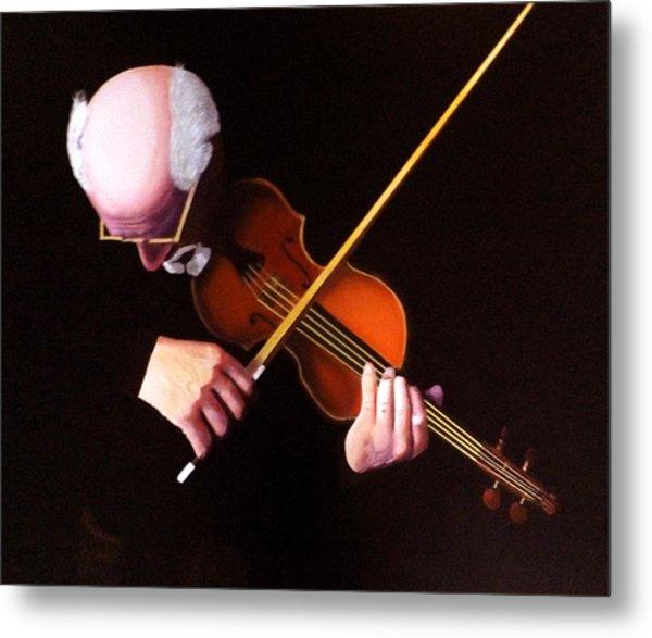 Violin Virtuoso-grandfather Inspired Metal Print