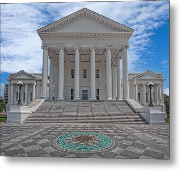 Metal Print featuring the photograph Virginia Capitol by Jemmy Archer