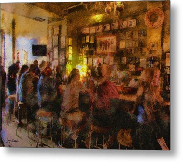 Virginia City Bar Metal Print