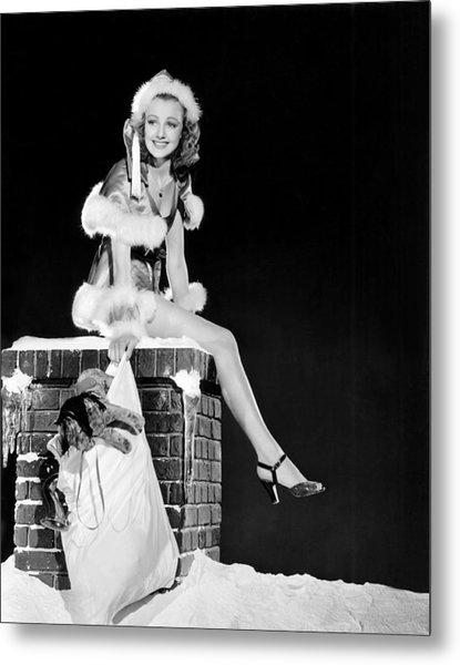Virginia Grey As Santa Claus Mgm Photograph By Everett