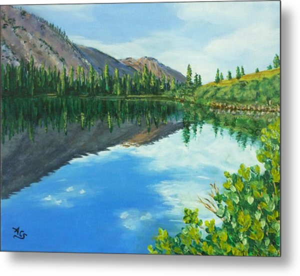 Virginia Lake Metal Print