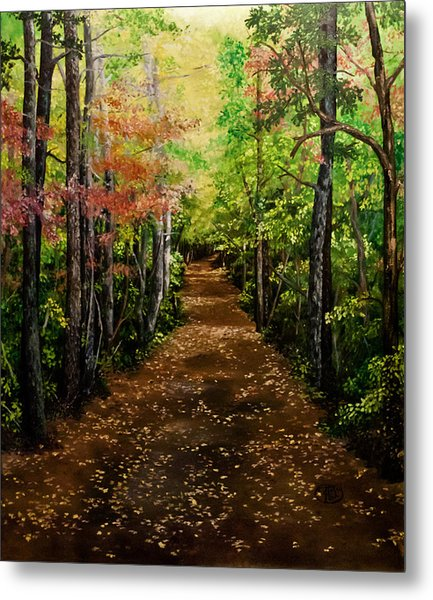 Virginia Path Metal Print
