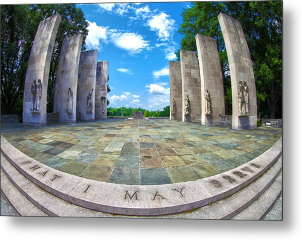 Virginia Tech War Memorial Metal Print