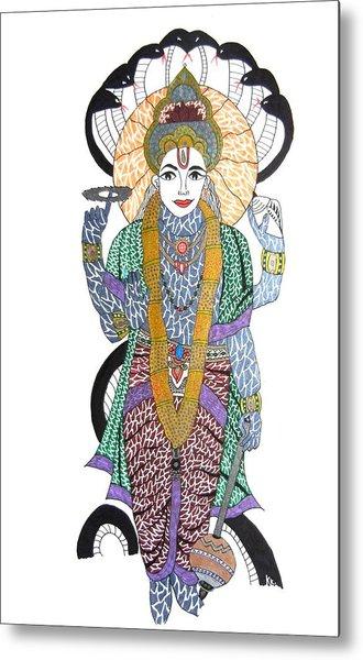 Vishnu II Metal Print