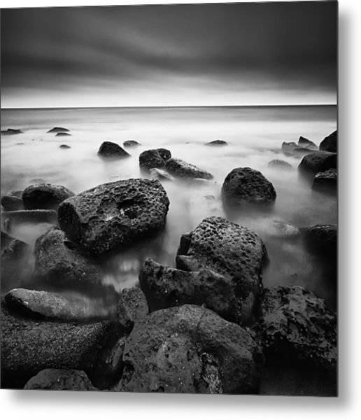 Visions Of Time I Metal Print