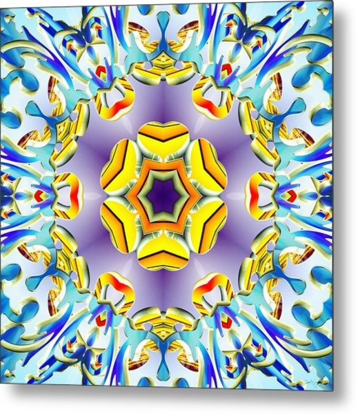Vivid Expansion Metal Print