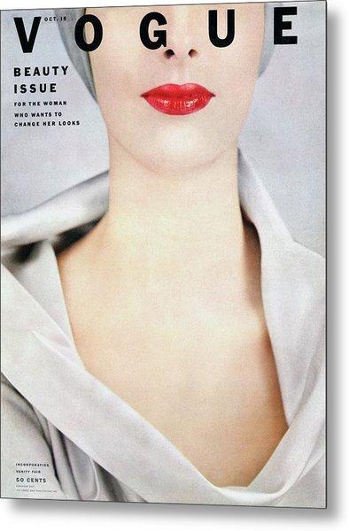 Vogue Cover Of Victoria Von Hagen Metal Print