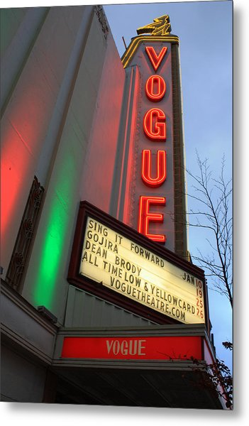 Vogue Theatre Metal Print