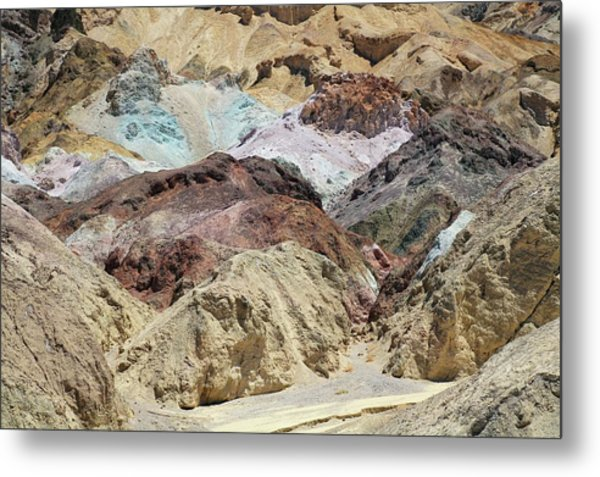 Volcanic Deposits Metal Print