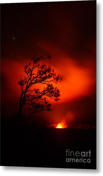 Volcano National Park Hawaii Metal Print