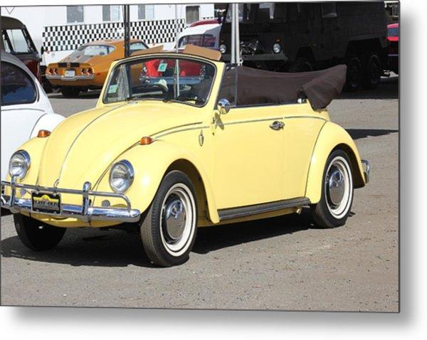 Volkswagen Convertible Vintage Metal Print