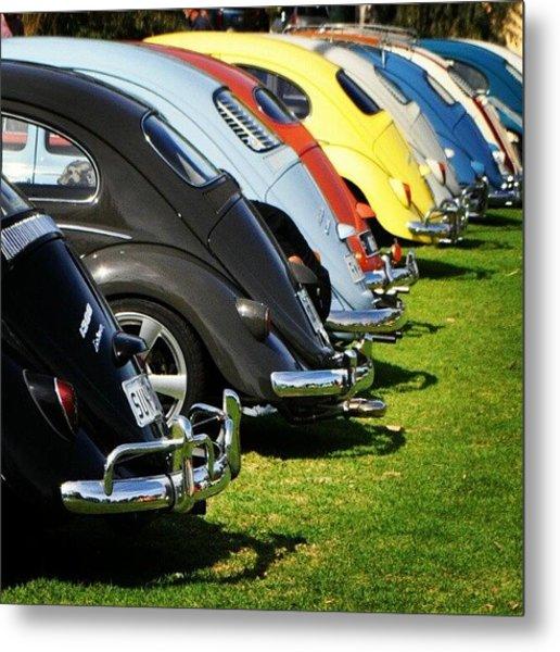 Volkswagen Line Up Metal Print