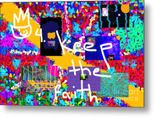 Volord Kingdom Rule #4 Metal Print