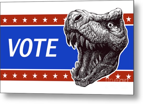 Vote - Presidential Election Poster Metal Print