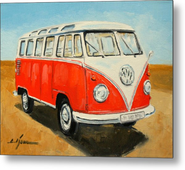 Vw Transporter T1 Metal Print